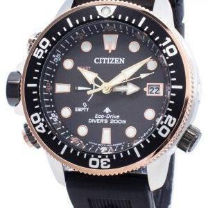 Citizen PROMASTER Eco-Drive BN2037-11E Rajoitettu erä 200M miesten kello