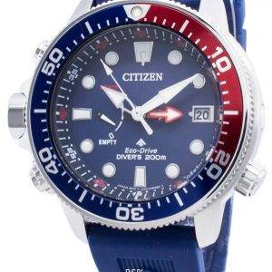 Citizen PROMASTER Eco-Drive BN2038-01L Power Reserve Indicator 200M miesten kello