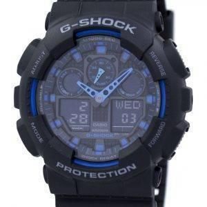 Casio G-Shock maailman hälytys GA-100-1A2 GA-100 miesten kello