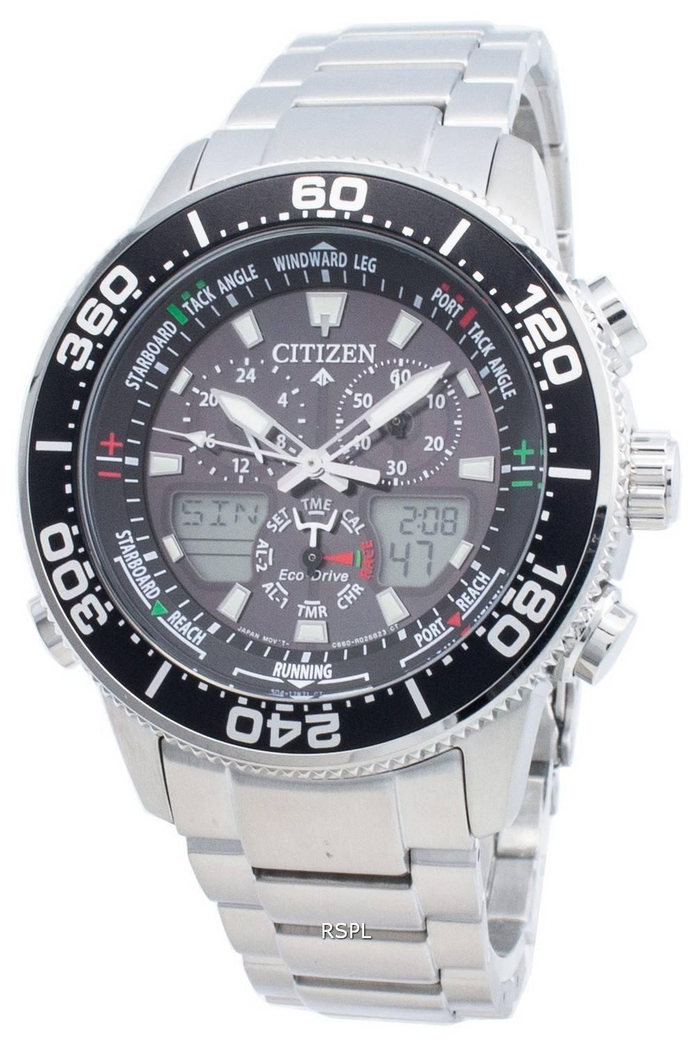 Citizen PROMASTER Marine Eco-Drive JR4060-88E Chronograph 200M miesten kello
