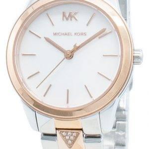 Michael Kors Runway Mercer MK6717 timanttikoristeet kvartsi naistenkello