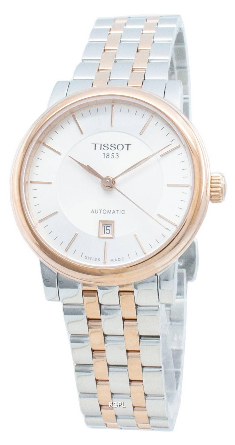 Tissot T-Classic Carson Premium T122.207.22.031.01 T1222072203101 automaattinen naisten kello