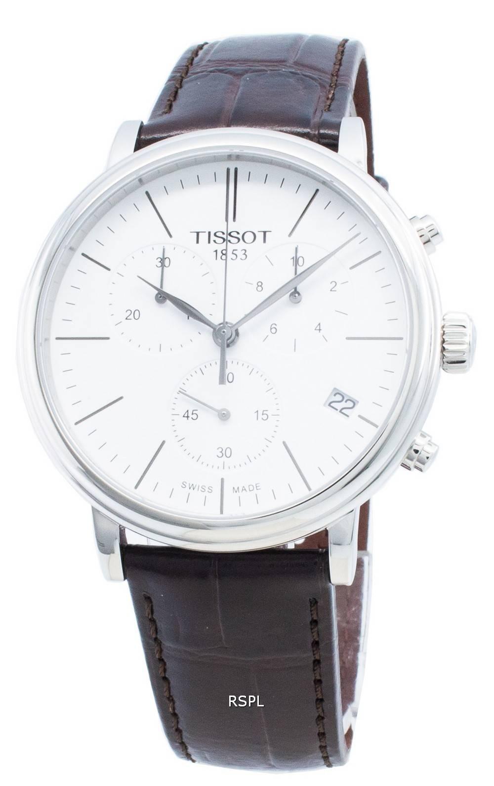 Tissot T-Classic Carson Premium T122.417.16.011.00 T1224171601100 Chronograph Quartz miesten kello