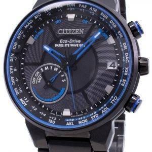 Citizen Eco-Drive-satelliitti-aalto GPS CC3078-81E maailmanajan miesten kello