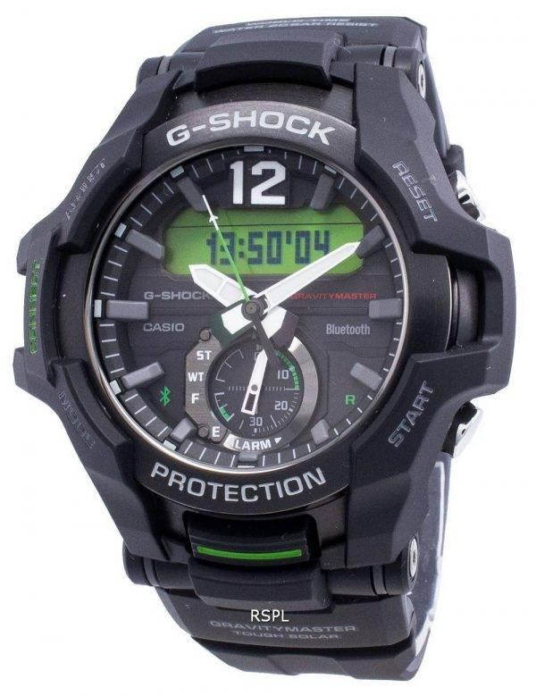 Casio G-Shock Bluetooth GRAVITYMASTER GR-B100-1A3 Neobrite Solar 200M miesten kello