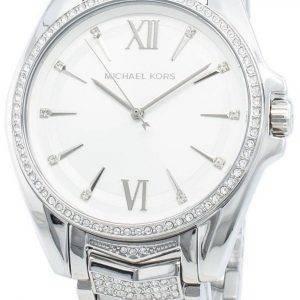 Michael Kors Whitney MK6687 timanttikoristeet kvartsi naistenkello
