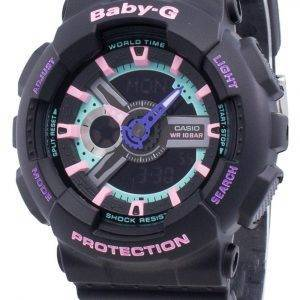 Casio BABY-G BA-110TH-1A iskunkestävä kvartsi-naisten kello
