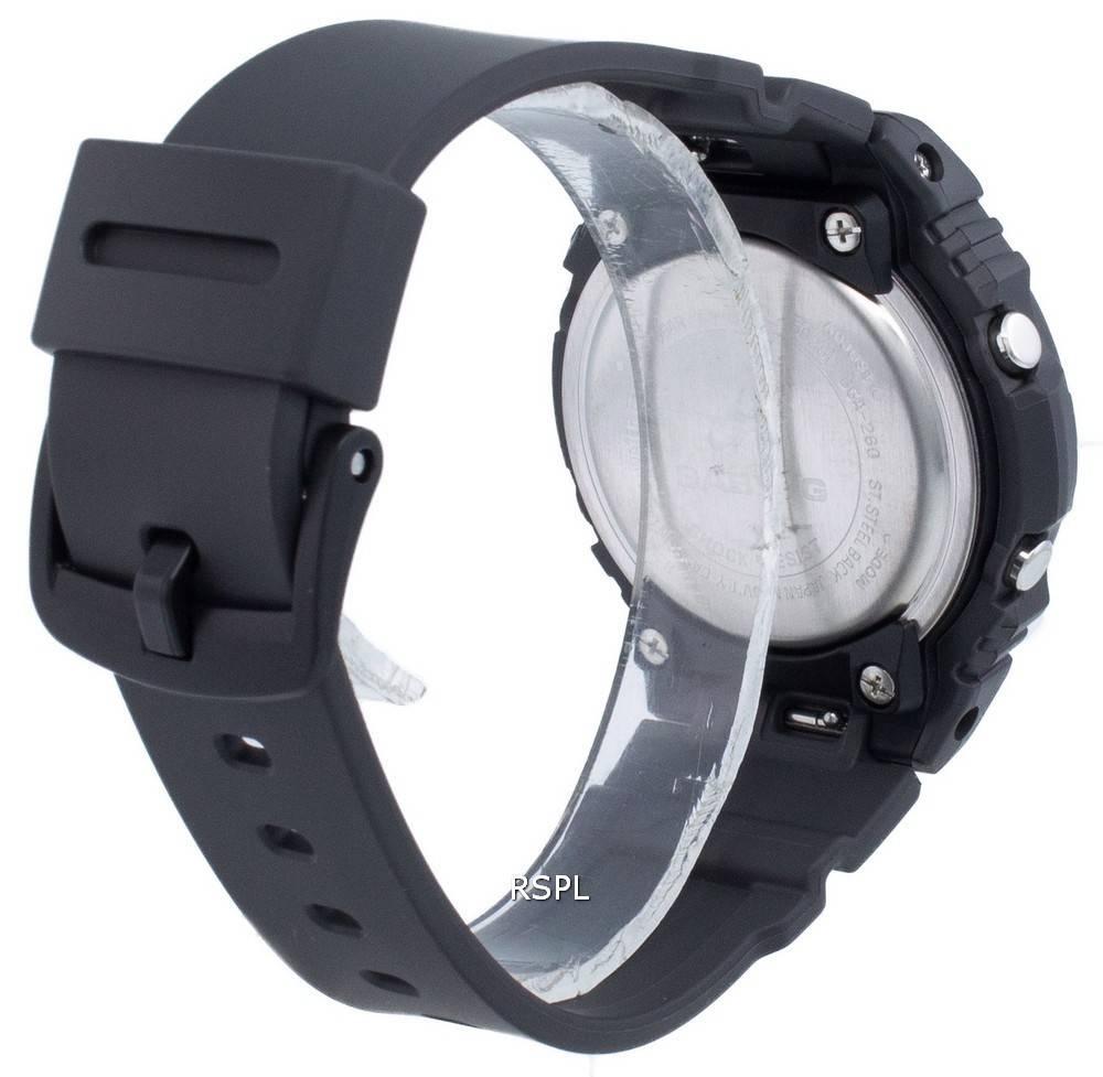 Casio Baby-G BGA-260-1A Neobrite Quartz -naisten kello