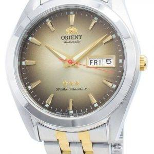 Orient Tri Star RA-AB0031G19B automaattinen miesten kello