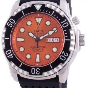 Suhdevapaa Diver Helium-Safe 1000M Sapphire Automatic 1068HA90-34VA-ORG miesten kello