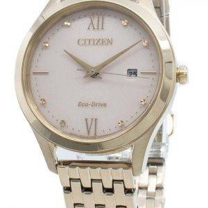 Citizen Eco-Drive EW2533-89X timanttikoristeet naistenkello