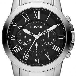 Fossil Grant Chronograph Black Dial FS4736 miesten kello