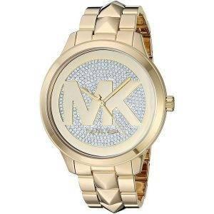 Michael Kors Runway Mercer MK6714 timanttikoristeet kvartsi naistenkello