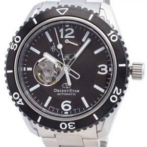 Orient Star automaattinen RE-AT0102Y00B avoimen sydämen 200M miesten kello