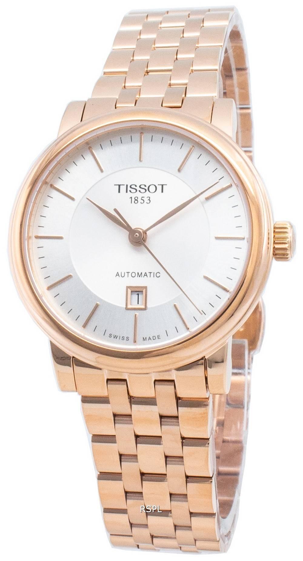 Tissot Automaattinen Carson Premium T122.207.33.031.00 T1222073303100 naisten kello