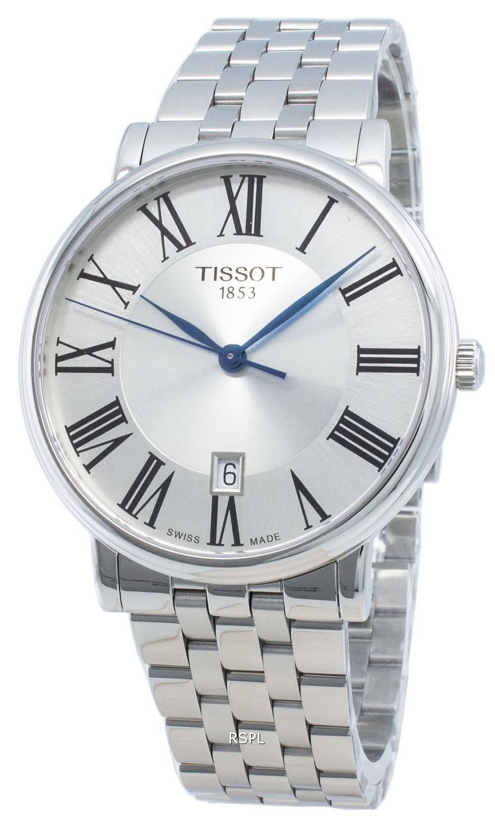 Tissot Carson Premium T122.410.11.033.00 T1224101103300 Quartz miesten kello