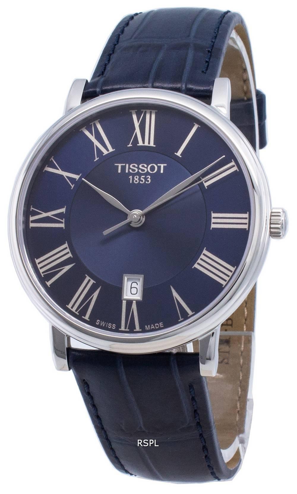 Tissot Carson Premium T122.410.16.043.00 T1224101604300 Quartz miesten kello