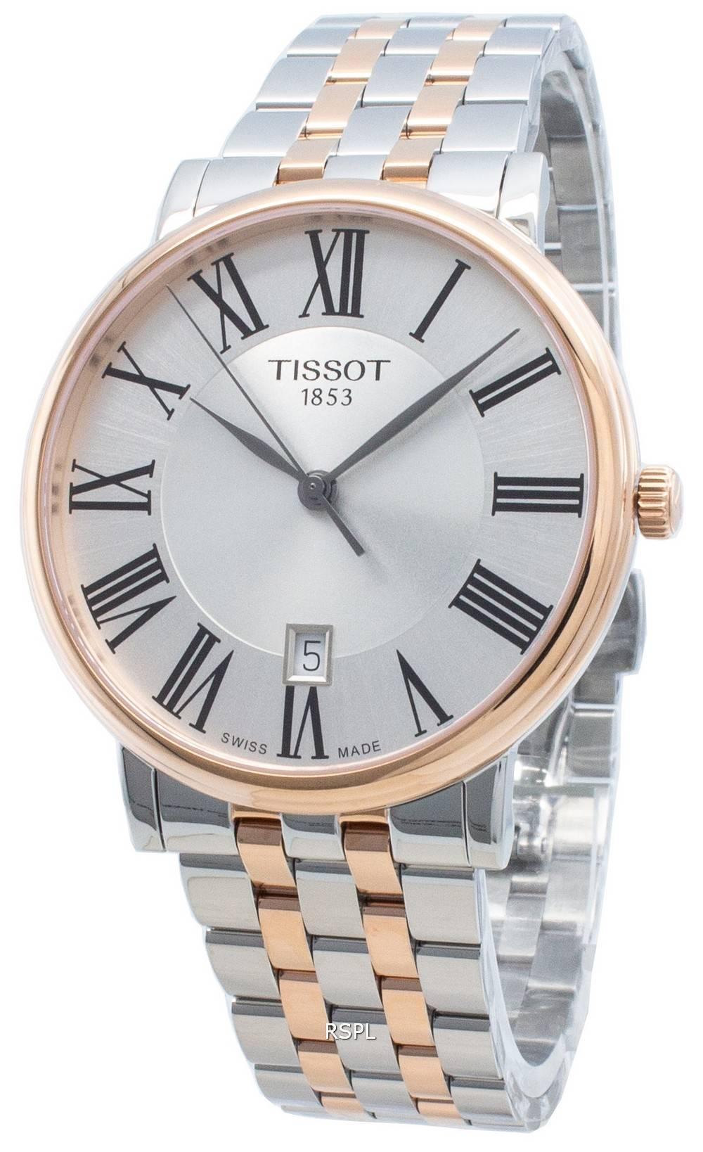 Tissot Carson Premium T122.410.22.033.00 T1224102203300 Quartz miesten kello