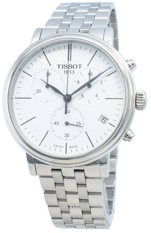 Tissot Carson Premium T122.417.11.011.00 T1224171101100 Chronograph Quartz miesten kello