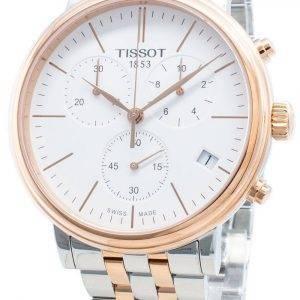 Tissot Carson Premium T122.417.22.011.00 T1224172201100 Chronograph Quartz miesten kello