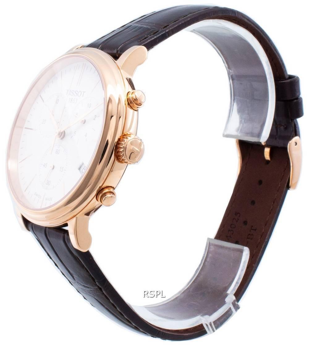 Tissot Carson Premium T122.417.36.011.00 T1224173601100 Chronograph Quartz miesten kello