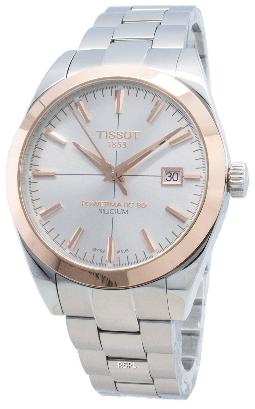 Tissot T-Gold Silicium T927.407.41.031.00 T9274074103100 miesten automaattinen kello