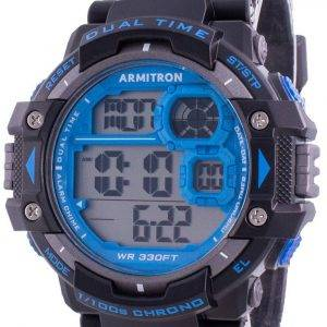 Armitron Sport 408309BLU Quartz Dual Time miesten kello