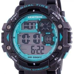 Armitron Sport 408309BTL Quartz Dual Time miesten kello