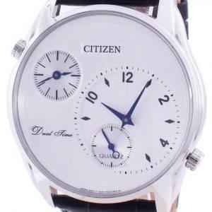Citizen Dual Time AO3030-24A Reloj de cuarzo para hombre