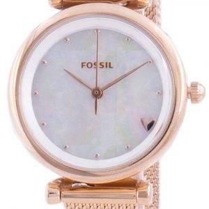 Reloj de cuarzo para mujer Fossil Carlie Mini ES4505