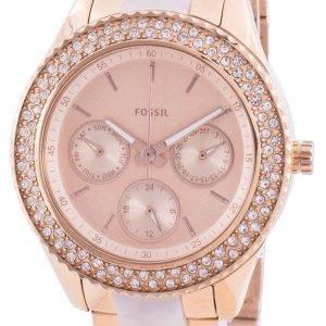 Fossil Stella ES4755 Reloj de mujer con detalles de diamantes de cuarzo