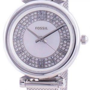 Fossil Carlie Mini ES4837 Reloj de mujer con detalles de diamantes de cuarzo