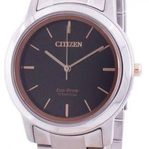 Reloj Citizen Eco-Drive Titanium FE7024-84E de mujer