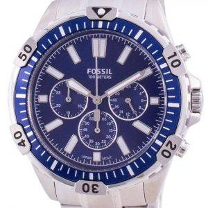 Fossil Garrett FS5623 Reloj cronógrafo de cuarzo para hombre