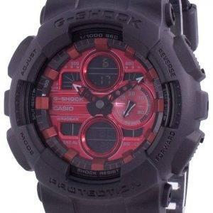 Casio G-Shock GA-140AR-1A Reloj de cuarzo resistente a los golpes 200M para hombre