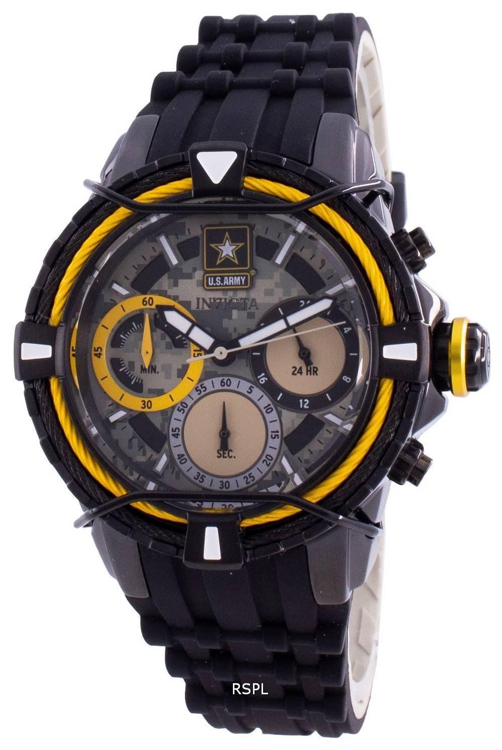 Invicta Yhdysvaltain armeijan 31850 kvartsi Chronograph naisten kello