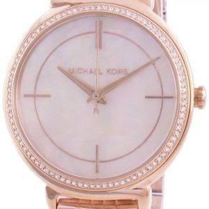 Michael Kors Cinthia MK3643 Reloj de mujer con detalles de diamantes de cuarzo