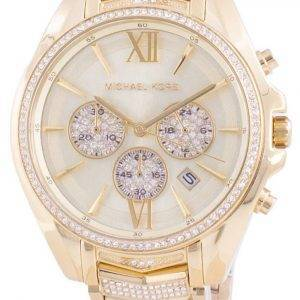 Michael Kors Whitney MK6729 Reloj de mujer con detalles de diamantes de cuarzo