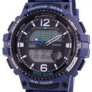 Reloj Casio Youth WSC-1250H-2AV Quartz Moon Phase para hombre
