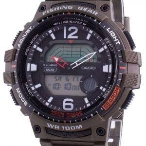 Reloj Casio Youth WSC-1250H-3AV Quartz Moon Phase para hombre