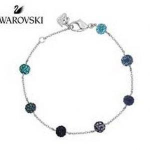 Swarovski 1106432 Pop Blue Purple Crystal Balls naisten rannekoru