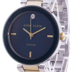 Anne Klein 1363NVTT Quartz Diamond Accents naistenkello