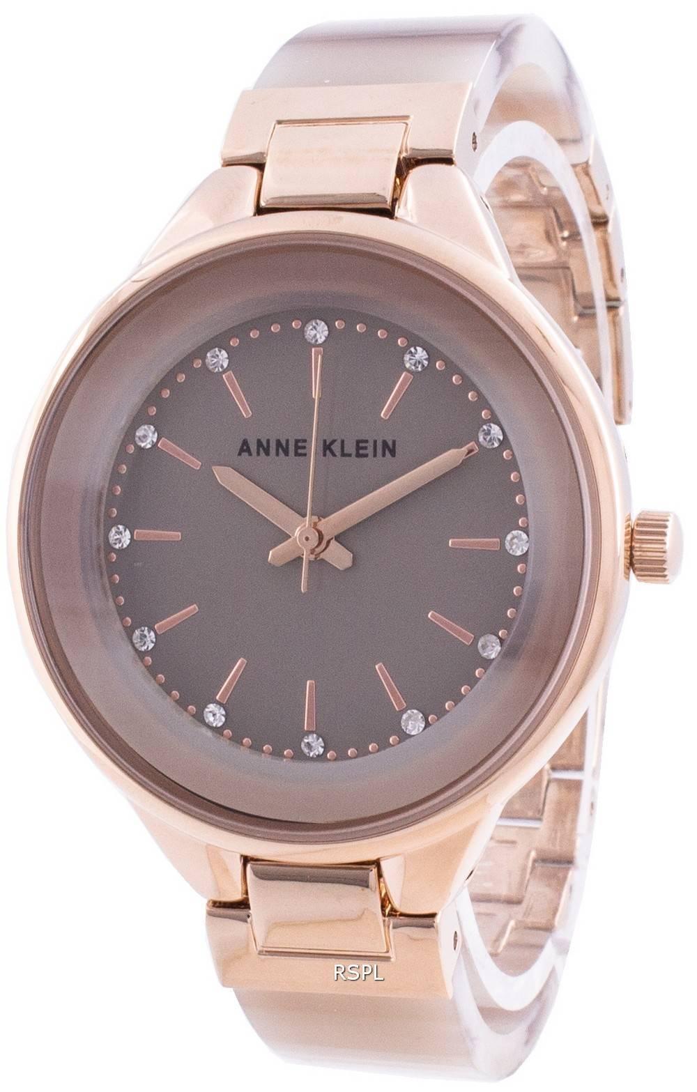 Anne Klein Swarovski kristalli painollinen 1408TNRG kvartsi naisten kello