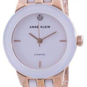 Anne Klein 1610WTRG Quartz Diamond Accents naistenkello