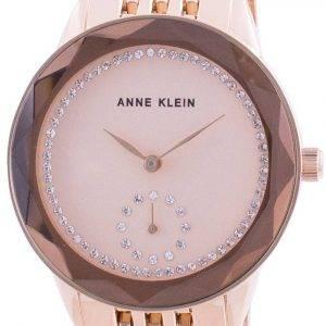 Anne Klein Swarovski Crystal painollinen 3506RGRG kvartsi naistenkello