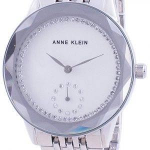 Anne Klein Swarovski Crystal painollinen 3507SVSV kvartsi-naisten kello