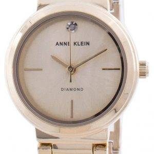 Anne Klein Aito Diamond 3528CHGB Quartz Naistenkello