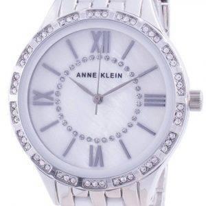 Anne Klein Swarovski Crystal painollinen 3549WTSV kvartsi-naisten kello