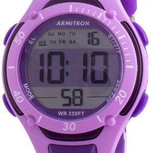 Armitron Sport 457062PUR Quartz Dual Time naistenkello