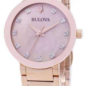Bulova Modern 97 P 132 Diamond aksentti kvartsi naisten Watch